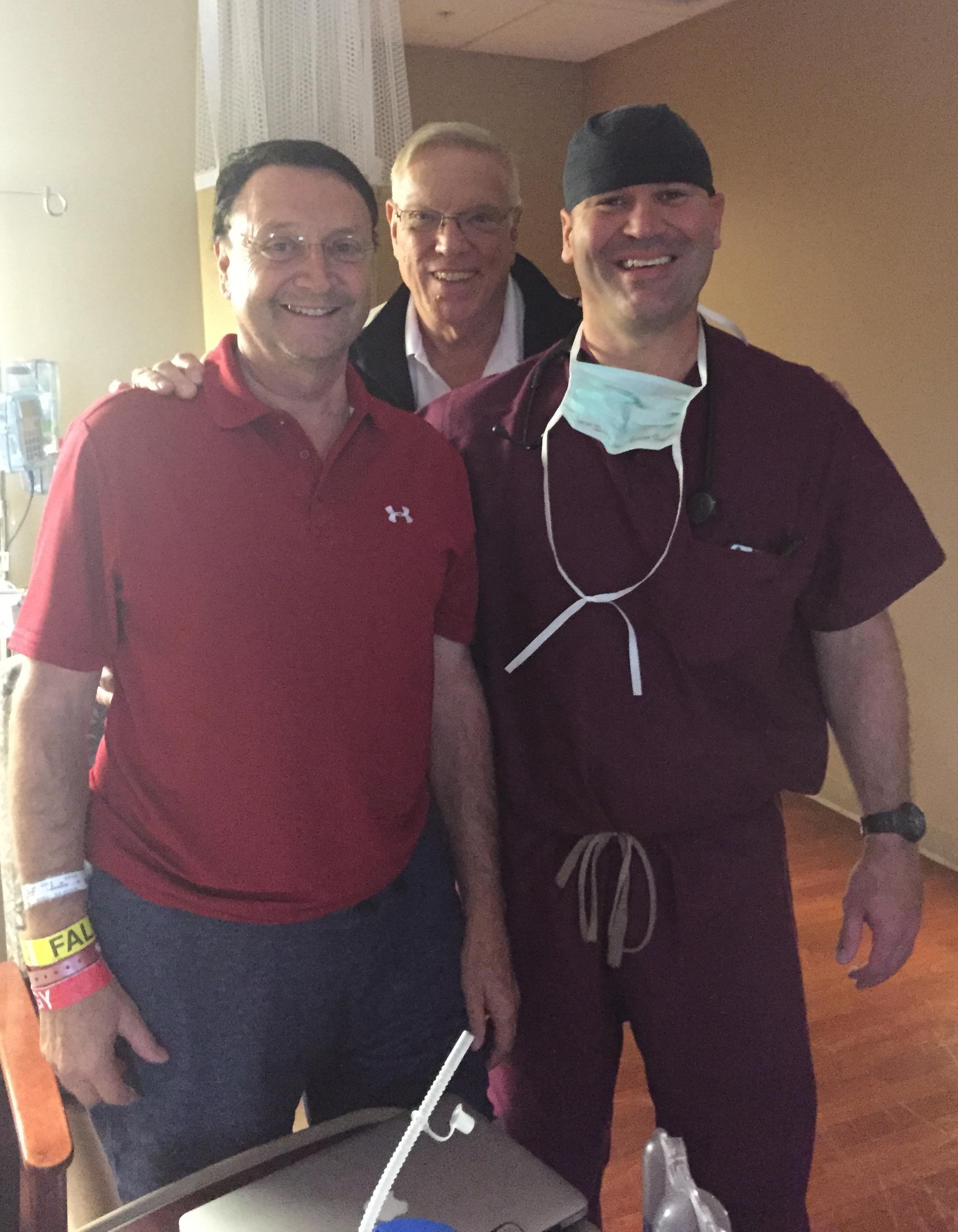 Tim, Dr. Lesnock and Dr. Matusic
